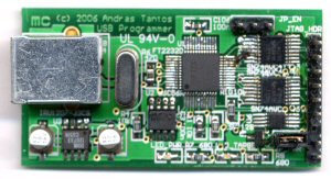 USB port JTAG programmer   Modular Circuits